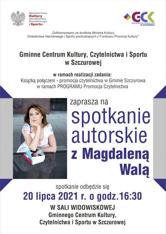 Spotkanie z Magdaleną Walą 07 2021