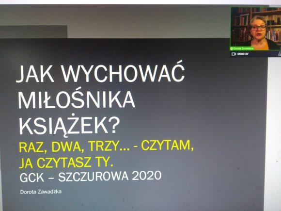 Zoom Dorota Zawadzka 2020