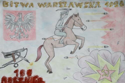 Galeria prac plastycznych 100r Bitwy Warszawskiej