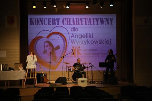 Koncert Charytatywny dla Angeliki Wyrzykowskiej